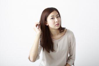 女性 FAGA 薄毛の画像